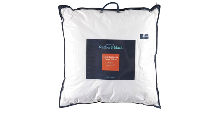 Duck Feather and Down Continental Soft to Medium Pillow
